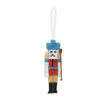 Beaded Nutcracker Ornament