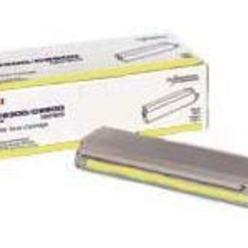 YELLOW TONER CARTRIDGE FOR C9300/C9500 SERIES TYPE C5 LIFE EXPECTANCY OF UP TO 1