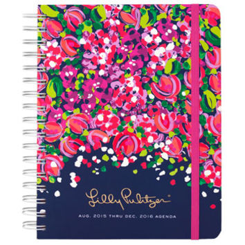 Lilly Pulitzer Large 17 Month 2015-2016 Agenda - Wild Confetti