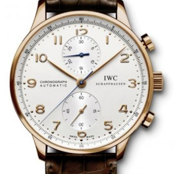IWC - Portuguese Chronograph - Red Gold