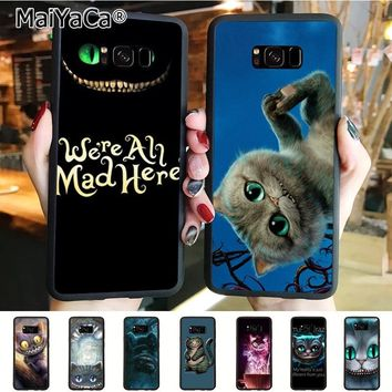 MaiYaCa Alice in Wonderland Hot Fashion Fun Dynamic phone case for samsung galaxy s8plus s9plus s7 s6 edge plus s5 case