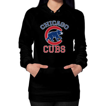 Cubs Baseball Team Chicago Allsex, Chicago cubs world series Hoodie (on woman)