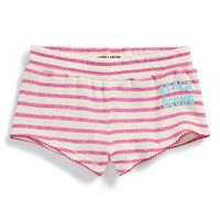 Girl's Billabong 'Sunny Ways' Stripe Terry Shorts,