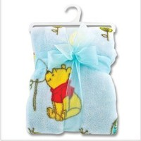 Winnie the Pooh Fleece Baby Blanket-So Soft and Perfect for the New Baby Boy!