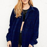 Vintage Renewal Overdyed Tartan Flannel Shirt - Urban Outfitters