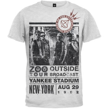 U2 - Zoo Outside Tour Soft T-Shirt