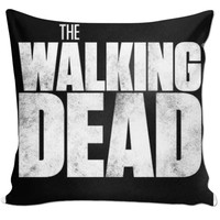 The walking dead pillow