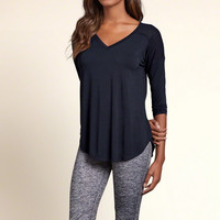 Drapey Ribbed Panel Tunic