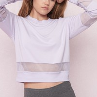 Classic Crew Neck With Mesh