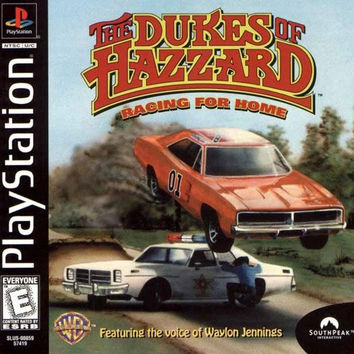 Dukes of Hazzard: Racing for Home (Sony PlayStation 1, 1999)