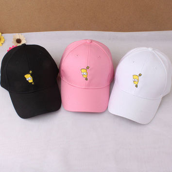 Women's Trending Popular Fashion Casual Simple Hip-hop Weekend Curved Peak Trucker Baseball Cap Hat _ 4995