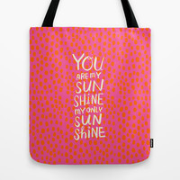 My Only Sunshine Tote Bag by Gigglebox