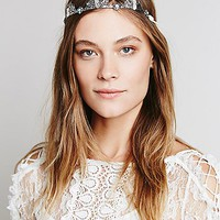 Free People Womens Crystal Queen Crown