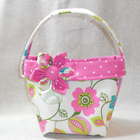 Charming Pink Floral Little Girls' Purse