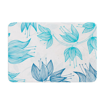 "Anchobee ""Biru Dream"" Memory Foam Bath Mat"