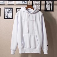 Champion Women Fashion Cashmere Hoodie Top Sweater Pullover