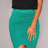 Solid Color Tulip Skirt