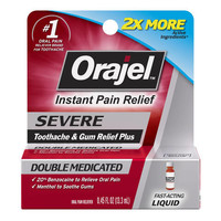 Orajel ™ Severe Triple Medicated Toothache & Gum Relief Plus Cream -.33oz