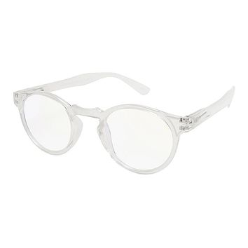 Jesse Blue Light Blocking Reading Glasses - Clear