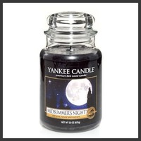 Yankee Candle Company Midsummer's Night Large Jar Candle