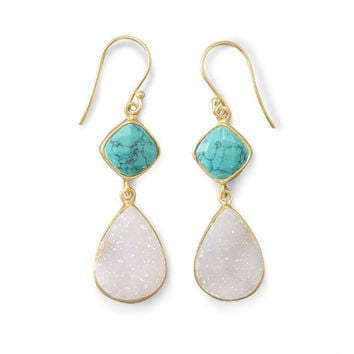 Dazzling Druzy Earrings