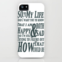 Perks iPhone Case by DinoPrints