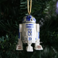 Licensed cool NEW Custom Star Wars R2D2 R2-D2 Light-Pipe Eye Port Christmas Ornament PVC