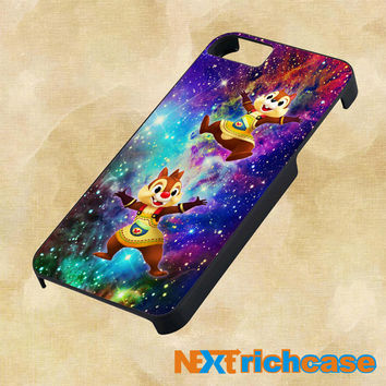 Chip and Dale Galaxy Nebula For iPhone, iPod, iPad and Samsung Galaxy Case