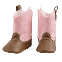 Sale Mud Pie Pink Cowboy Boots