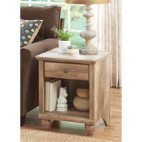 Walmart: Better Homes and Gardens Crossmill Weathered Collection End Table, Lintel Oak