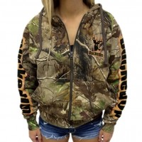 Zipper Hoodie - Realtree APG Camo with Tan LogoPurchase