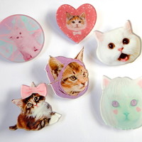 Cat Pins from SKSS