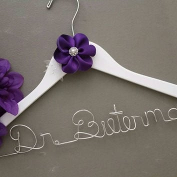 Personalized Doctor Hanger, New Graduate or The Soon to Be Doctor, Great Gift