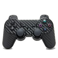 Playstation 3 Remote Cover/Skin - Carbon Fiber Black from Slickwraps