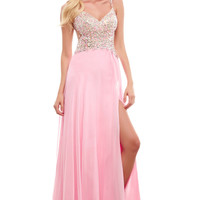 Cassandra Stone by Mac Duggal 65033 Prom Dress Evening Gown
