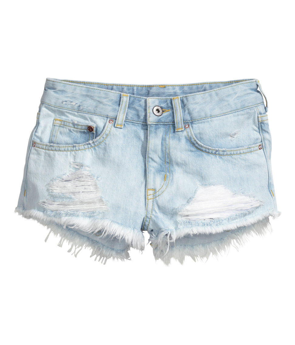 h m denim shorts from h m quick saves. Black Bedroom Furniture Sets. Home Design Ideas