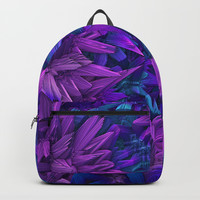 Purple Jungle Backpacks by Lyle Hatch