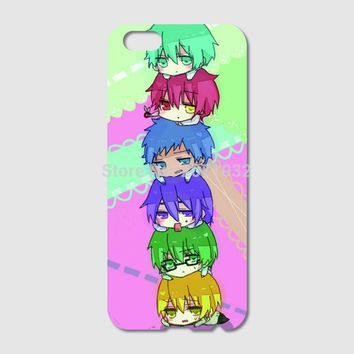 Kuroko no Basket kawaii anime Case For iPhone 6 6S Plus 5S 5C 4S iPod Touch 6 5 4 For Samsung Galaxy S7 S6 Edge Pus S5 S4 S3 S2
