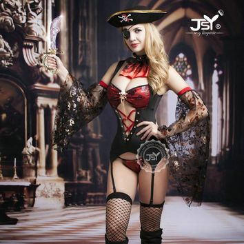 Pirate Costumes for Women Ladies Sexy Lingerie Pirate Cosplay Sexy Halloween Costumes