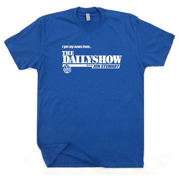 The Daily Show T Shirt Funny Vintage Soft T Shirts