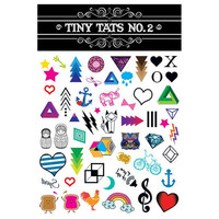 Tiny Tats Vivid Color Temporary Tattoo Collection