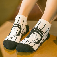 Womens Casual Socks Gift-12