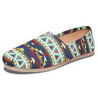 Native American Print Casual Shoes