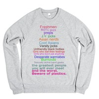 Highschool-Unisex Heather Grey Sweatshirt