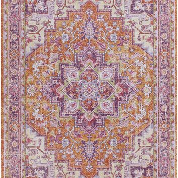 Surya Antioch Transitional Pink AIC-2319 Area Rug