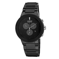 Men's Citizen Eco-Drive Chronograph Black Axiom Watch