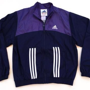 90s Adidas Windbreaker Jacket Medium