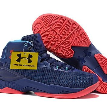 Under Armour Men's Sc30 Stephen Curry 3.5 Navy/red Sport Sneaker | Best Deal Online
