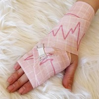 Heartbeat Pink Compression Bandage