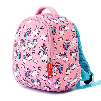 Cute Animals School Bags For Girls Boys Kid Backpacks Kindergarten Schoolbags Fashion Unicorn Kids Small Bag Mochila Infantil